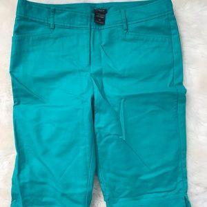 Teal Ann Taylor Bermuda shorts